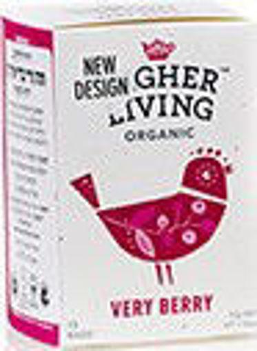תמונה של הייר ליווינג תה ורי ברי אורגני ללא קפאין 33 ג'ר