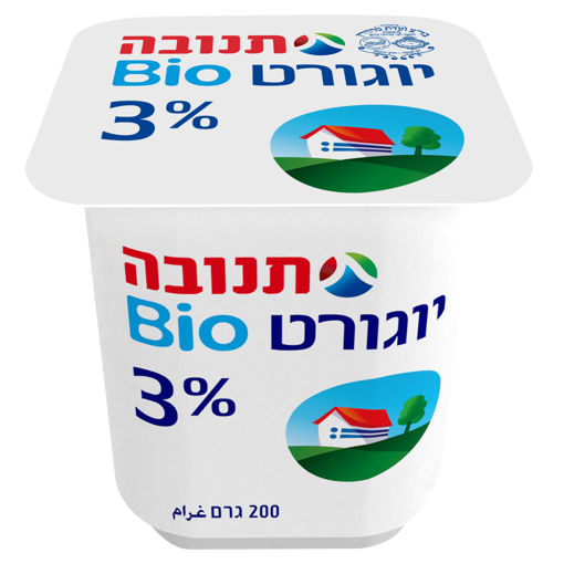 Picture of תנובה יוגורט טבעי 3% 200 ג'ר