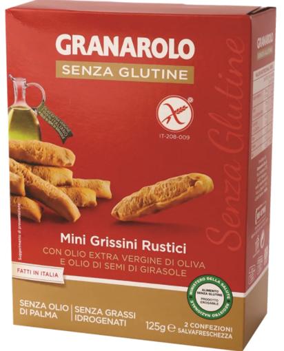 תמונה של גרנולו גרסיני עם שמן זית וחמניות ללא גלוטן 125 ג'ר