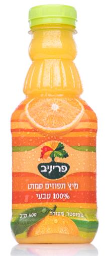 תמונה של פריניב מיץ תפוזים סחוט 400 מ'ל