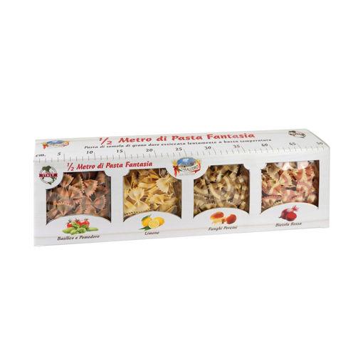 תמונה של פסטה פנטזיה  מארז מהודר 4 סוגים 250X4  מארז פסטות פרפרים מסמולינה מחיטת דורום 4*250 ג'ר