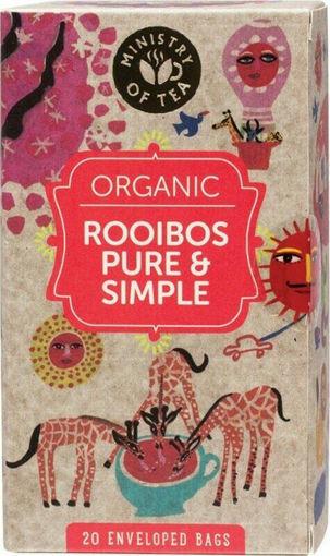 תמונה של אורגניק תה רויבוש אורגני 20 שקיקים 35 ג'ר