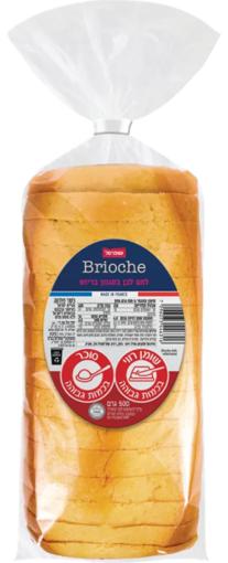 תמונה של שופרסל לחם בריוש פרוס 500 ג'ר
