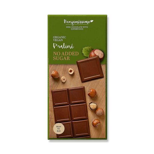 Picture of בנג'מסימו שוקולד אורגני טבעוני עם מאצ'ה 70 ג'ר