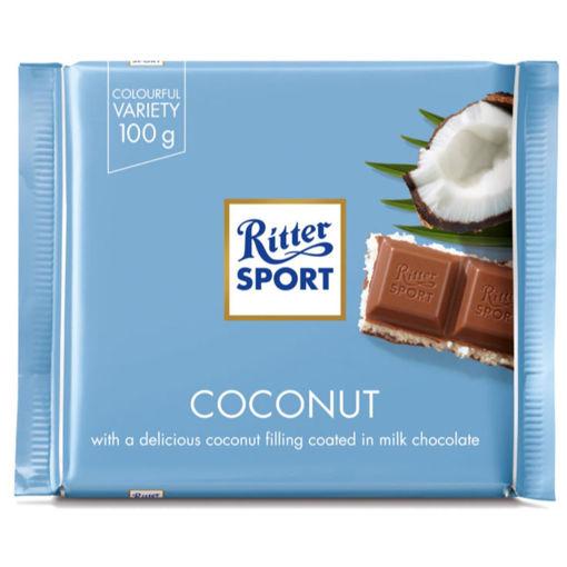 Picture of ריטר שוקולד במילוי וופל עם קרם קוקוס 100 ג'ר