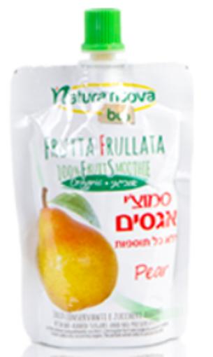 Picture of נטורה נובה סמוצ'י אגסים אורגני ללא תוספות 100  גרם